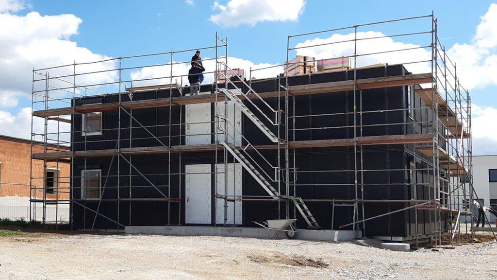 Baufortschritt Mitte Mai 2020
