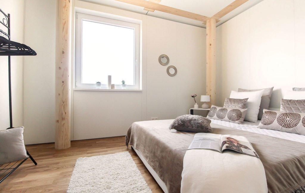 Musterwohung Pixendorf Schlafzimmer